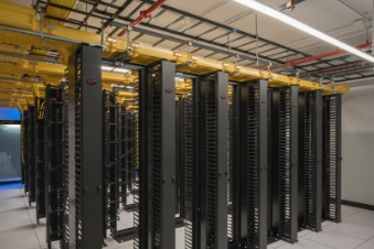 Netrality interconnected data center 401 N Broad cage cabinet solutions